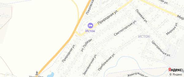 Улица Победы на карте Улан-Удэ с номерами домов