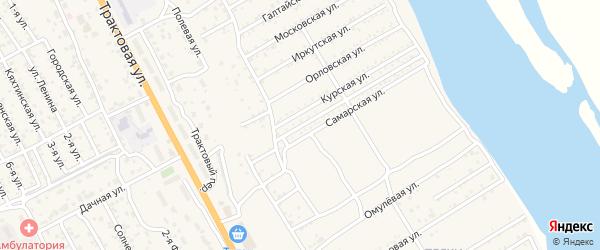Зеркальная улица на карте села Сотниково с номерами домов