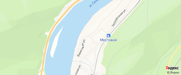 Территория 5617 на карте Беговой улицы с номерами домов