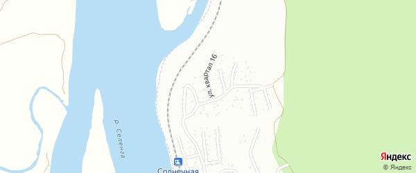 Улица 16-й квартал на карте Улан-Удэ с номерами домов