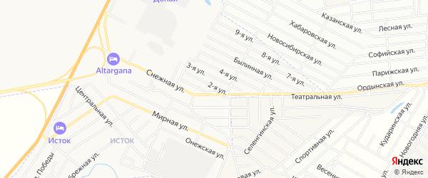 ГСК Сокол-2 на карте Улан-Удэ с номерами домов