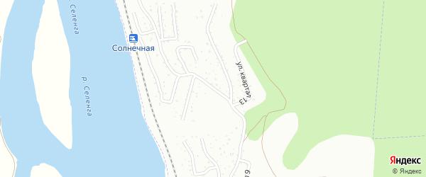 Микрорайон Тепличный кв-л 14 на карте Улан-Удэ с номерами домов