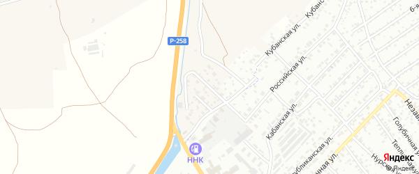 Тулунжинская улица на карте села Сотниково с номерами домов