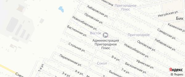 Улица 9-я (ДНТ Сокол) на карте Улан-Удэ с номерами домов