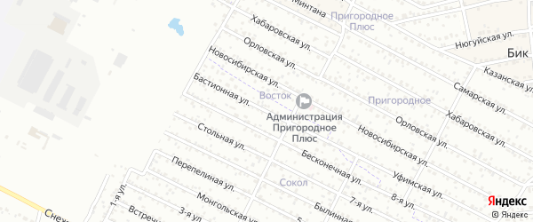 Улица 9-я (ДНТ Дружба) на карте Улан-Удэ с номерами домов