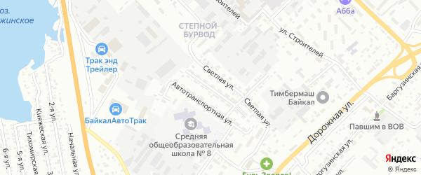 Улица Рукавишникова на карте Улан-Удэ с номерами домов