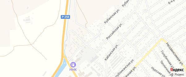 Лиговская улица на карте Улан-Удэ с номерами домов