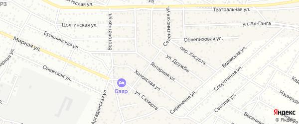Улица Авангард квартал Северный на карте села Сужа с номерами домов