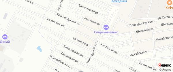 Улица Палилия на карте села Поселье с номерами домов