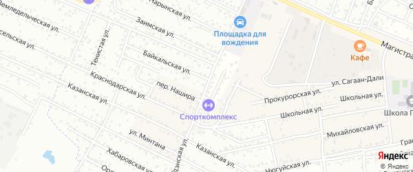 ДНТ Пригородное 2 Улан-Удэнская улица на карте села Поселье с номерами домов