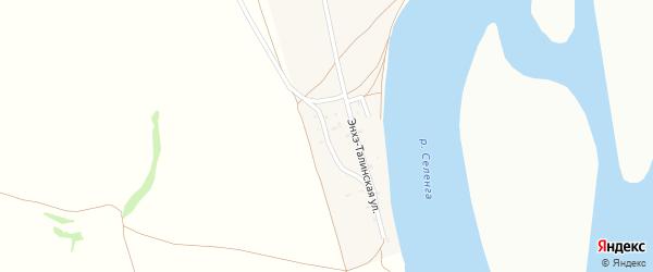 Нукутская улица на карте села Поселье с номерами домов
