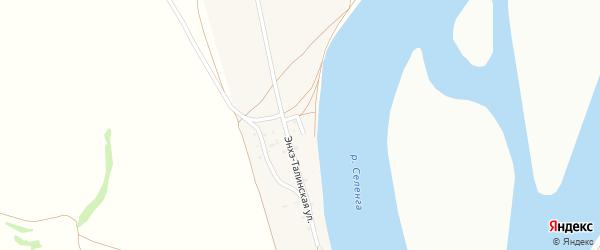 Нукутский переулок на карте села Поселье с номерами домов