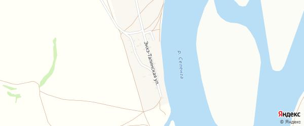 Энхэ-Талинская улица на карте села Поселье с номерами домов