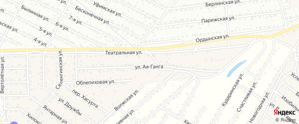 Территория ДНТ Бриз на карте села Сужа с номерами домов