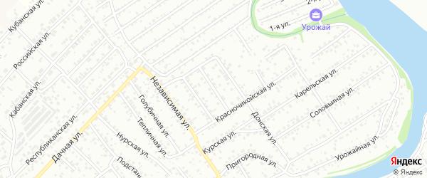Далахайская улица на карте Улан-Удэ с номерами домов