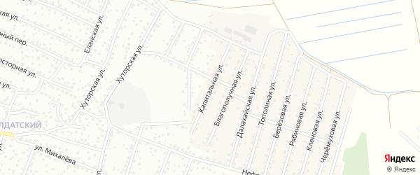Капитальная улица на карте села Поселье с номерами домов