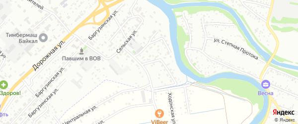 Ольхонская улица на карте Улан-Удэ с номерами домов