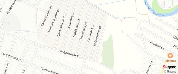 Кленовая улица на карте села Поселье с номерами домов