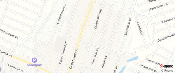 ДНТ Рубин Детский переулок на карте села Поселье с номерами домов