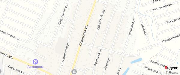 ДНТ Подснежник Кедровая улица на карте села Поселье с номерами домов