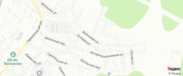 Войсковая улица на карте Улан-Удэ с номерами домов