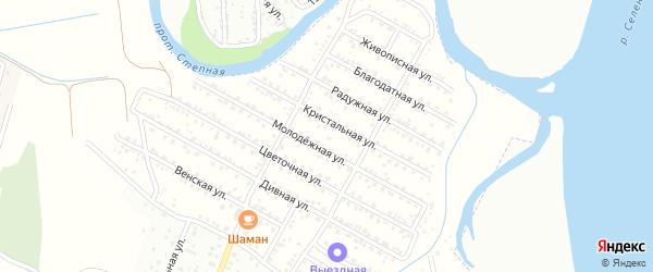 ДНТ Баяр плюс Киевская улица на карте села Поселье с номерами домов