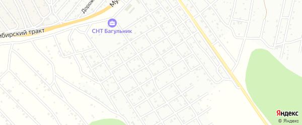 Улица 1 квартал (ДНТ Весна) на карте Улан-Удэ с номерами домов