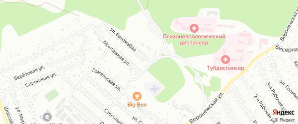 Батожабая улица на карте Улан-Удэ с номерами домов