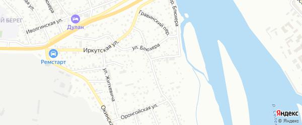 Сельскохозяйственная улица на карте Улан-Удэ с номерами домов