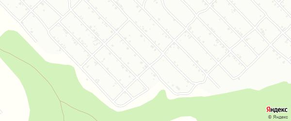2-я улица на карте дачного некоммерческого партнерства ДНТ Ромашки с номерами домов