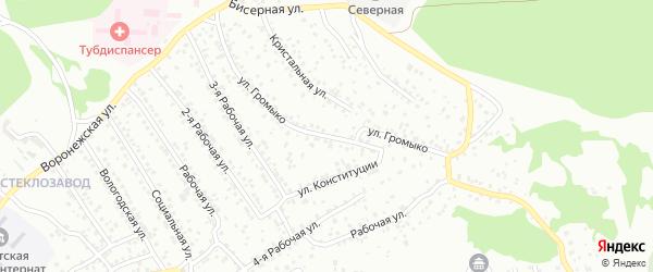 Улица Громыко на карте Улан-Удэ с номерами домов