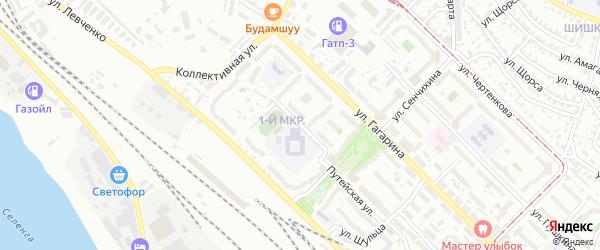 Гордеевская улица на карте Улан-Удэ с номерами домов