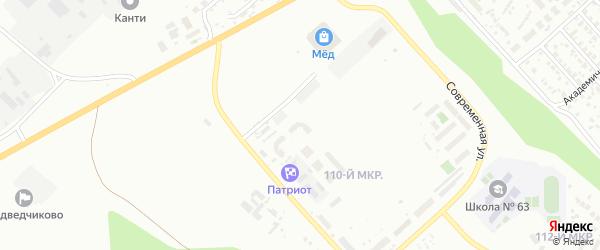 Улица Квартал 6 (СНТ Зенит) на карте Улан-Удэ с номерами домов
