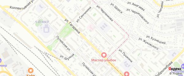 Улица Гольдсобеля на карте Улан-Удэ с номерами домов