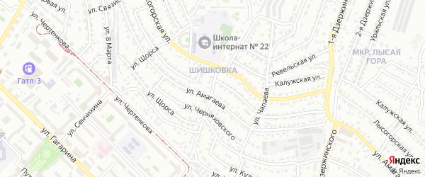 Улица П.Осипенко на карте Улан-Удэ с номерами домов