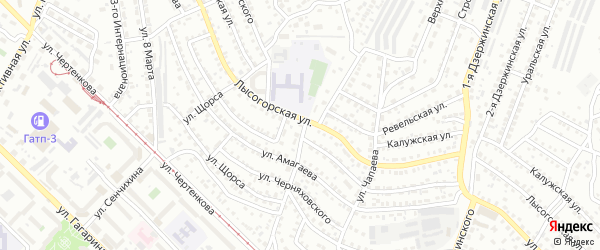 Поселок при станции Шишковка на карте Улан-Удэ с номерами домов