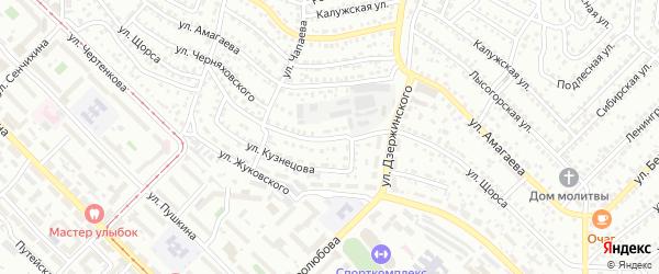 Улица Щорса на карте Улан-Удэ с номерами домов