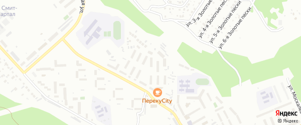 112-й микрорайон на карте Улан-Удэ с номерами домов