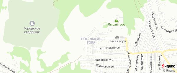 Снегиревская улица на карте Улан-Удэ с номерами домов