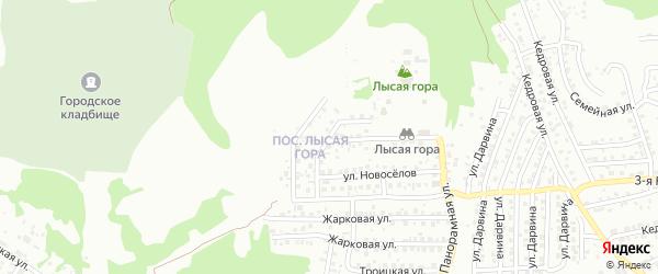 Стрелецкая улица на карте Улан-Удэ с номерами домов