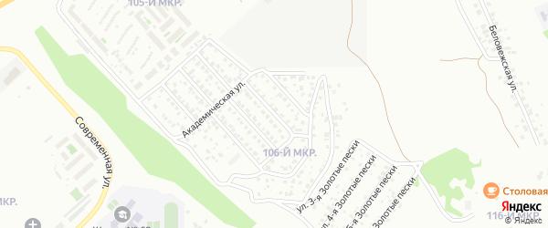 Улица Яблочная проезд 3 на карте Улан-Удэ с номерами домов