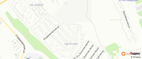 Улица Северная 2-я проезд 4 на карте Улан-Удэ с номерами домов