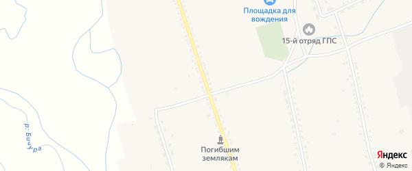 Коммунистическая улица на карте села Бичура с номерами домов