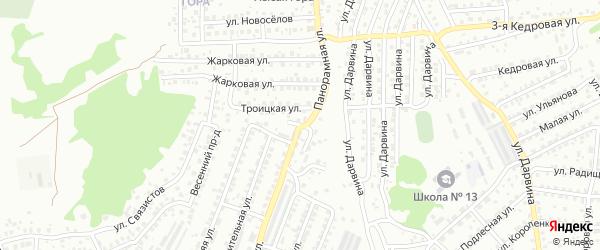 Троицкая улица на карте Улан-Удэ с номерами домов