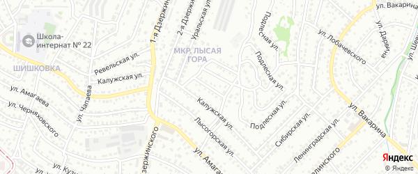 Улица Данчинова на карте Улан-Удэ с номерами домов