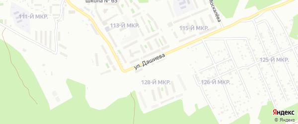 Улица Им Дашиева на карте Улан-Удэ с номерами домов