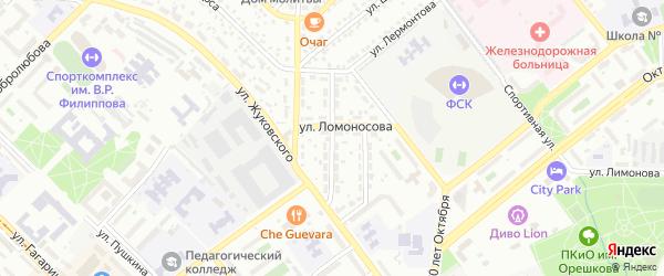 Улица Нахимова на карте Улан-Удэ с номерами домов