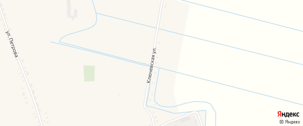 Ключевская улица на карте села Бичура с номерами домов