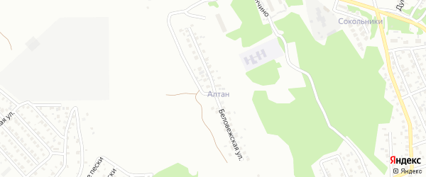 Беловежская улица на карте Улан-Удэ с номерами домов