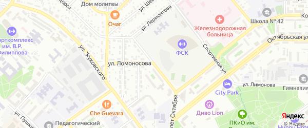 Улица Маяковского на карте Улан-Удэ с номерами домов